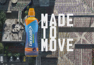 Grey London Relaunches Lucozade Sport with New 'Made to Move' Campaign