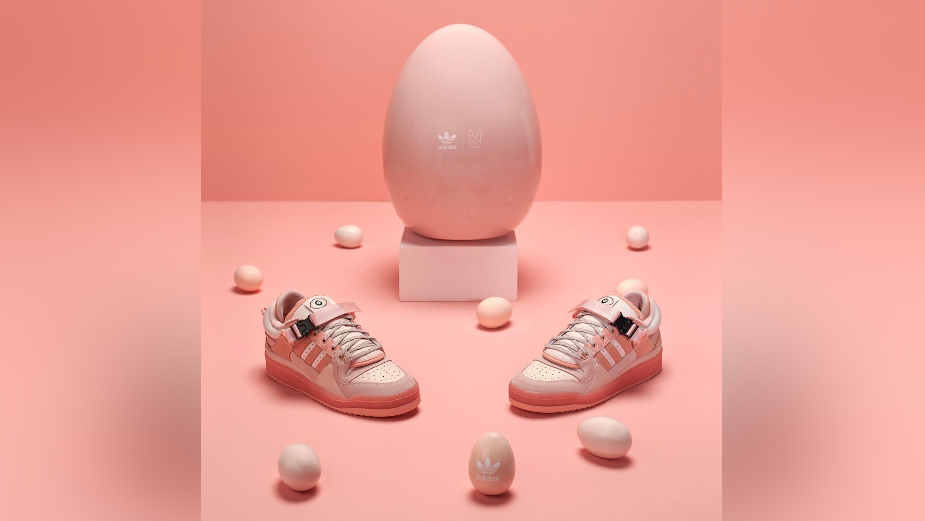 adidas and Bad Bunny Crafts the Ultimate Easter Egg for Collaboration Launch