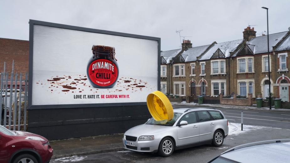 Marmite Dynamite Makes a Crash with Explosive Special Build