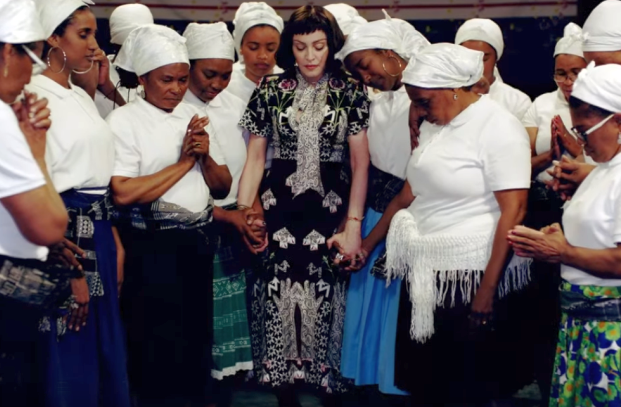 Madonna Celebrates the Power of Music and Strength of Women with 'Batuka' Promo