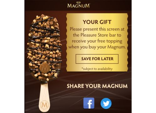 Make Your Own Magnum With Karmarama's New Web App