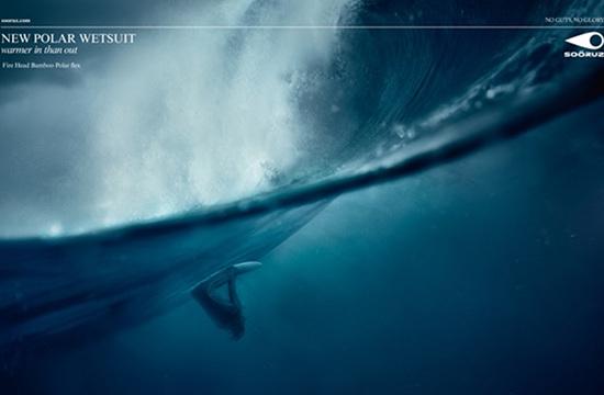 Publicis Conseil for Surfwear Brand Soöruz