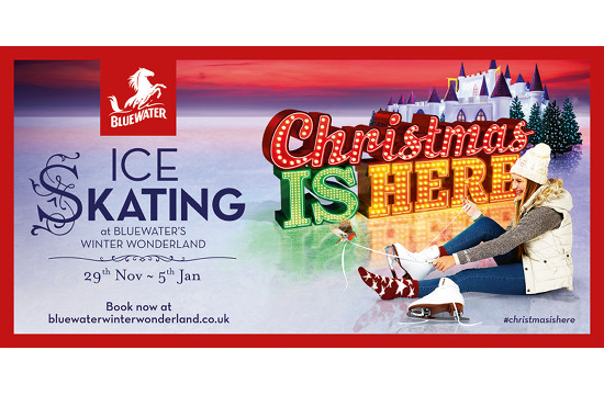 'Christmas is Here' at Bluewater