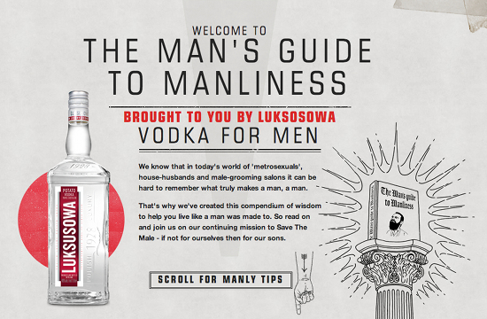 Luksusowa 'The Man's Guide to Manliness'