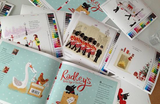 Radley's Twelve Days of Christmas