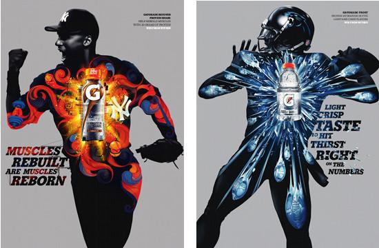 Gatorade Prints Featuring Global Athletes