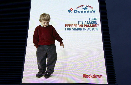 Domino's Take on British Airways #LookUp