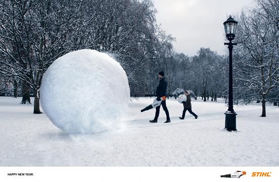 STIHL's Snowman Secret