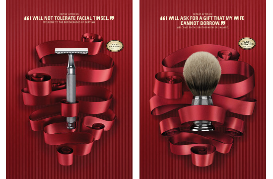 The Art of Shaving Holiday Campaign