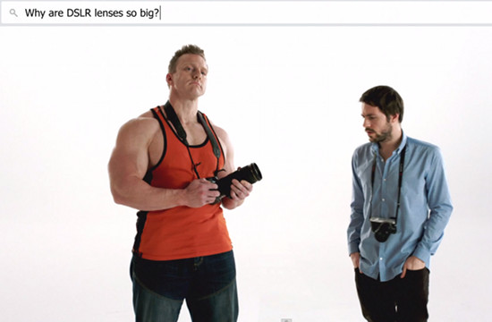 Panasonic Disrupts Conversations with 'Why DSLR?'