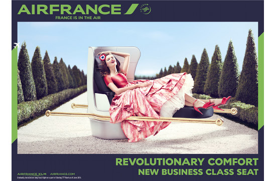 'France is in the Air' in BETC Paris' Air France Campaign