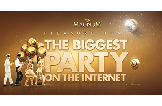 Magnum Throws 'The Biggest Party on the Internet'