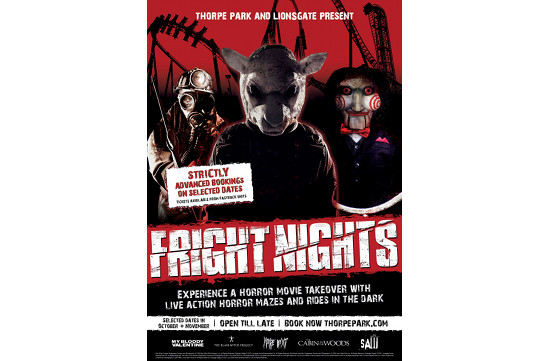 Space Brings Thorpe Park Fright Nights to Life