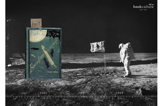 Authors' Limitless Imagination Celebrated in Book Culture Posters
