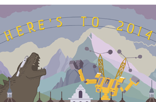 Can You Find All 90 References in Beutler Ink's Awesome Ode to 2014?