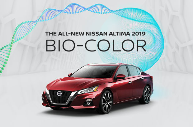 Nissan Altima's New Project Uses DNA to Choose the Colour of Your Car
