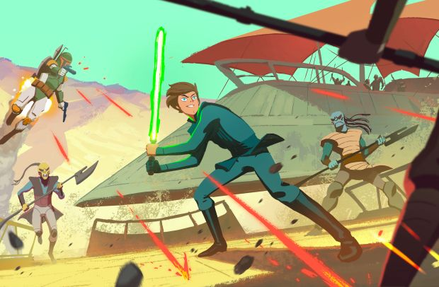 Your Shot: Titmouse's Kid-Focused 'Galaxy of Adventures' for Star Wars