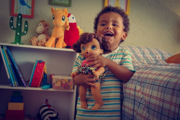 This Super Sweet Ad Shows Why Boys Should Play with Dolls