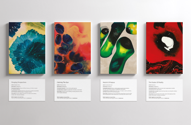 These Pieces of Art Are Made Entirely of Deadly Germs