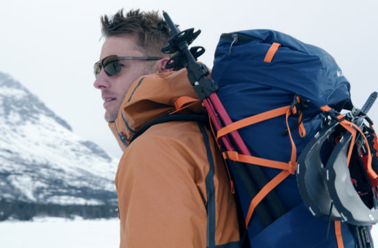 Columbia Sportswear Keeps Celebs Comfortably Uncomfortable in Scenic Film Series