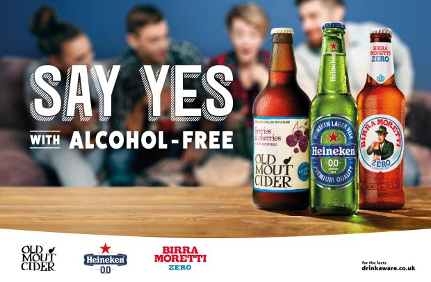 Heineken Says Yes to Alcohol-Free Beer and Cider in New Campaign