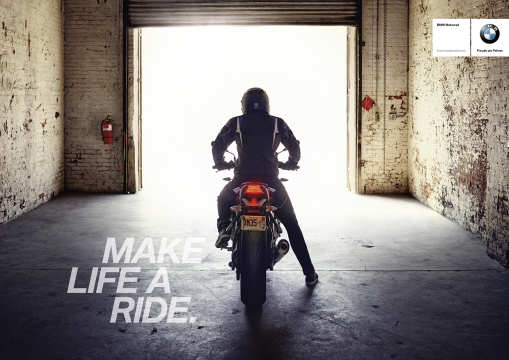 VCCP Berlin Makes a Ride Out of Life for BMW Motorrad Campaign