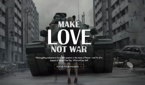 Lynx Extends Make Love Not War With A 'Peace Invasion'