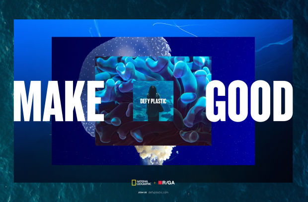 National Geographic and R/GA Australia Team up for Make Good Initiative