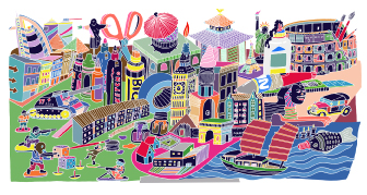 A Look Behind the Scenes with Jelly London Illustrator Mimi Leung