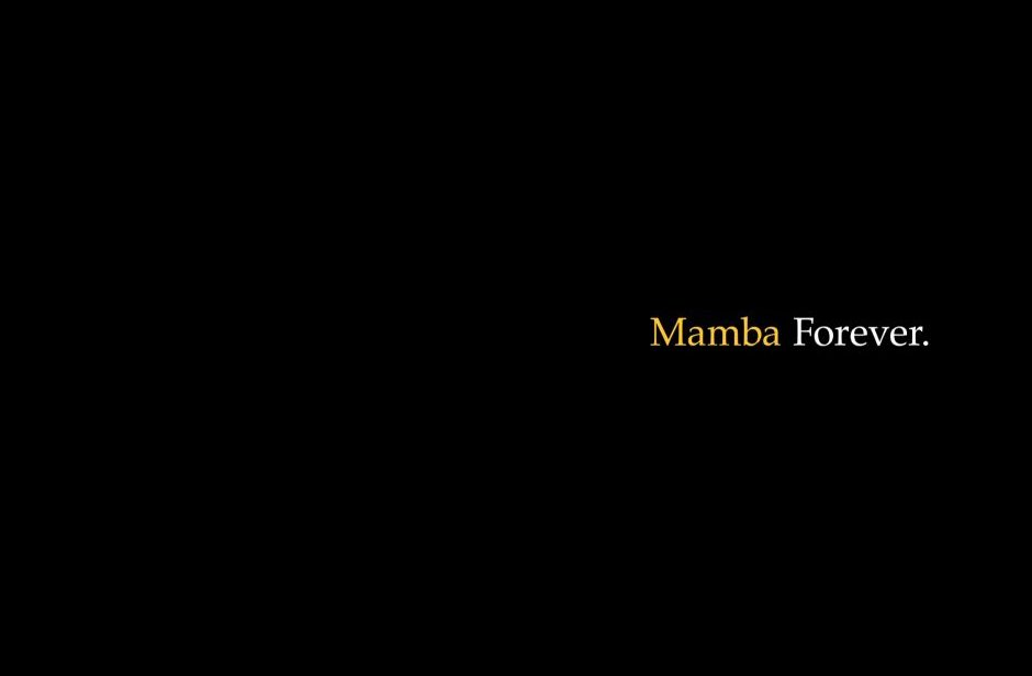 Nike Honours Kobe Bryant with Simple Yet Moving 'Mamba Forever' Ad
