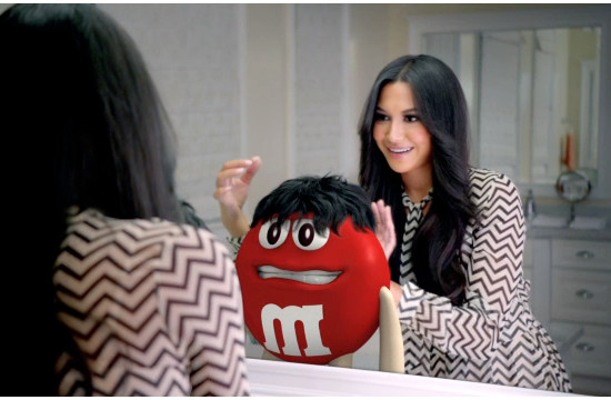 M&M's Red Would Do Almost Anything for Love