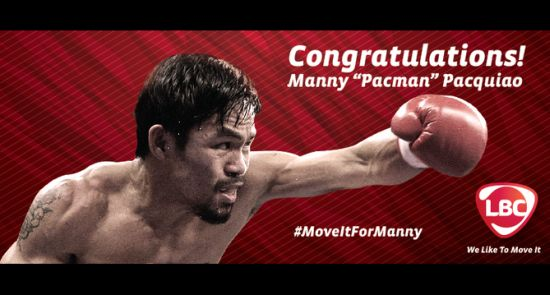 LBC Express' 'Move It For Manny' Mobilises Millions In Support For Manny Pacquiao