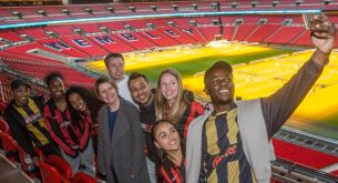 The FA And Mars Light Up Wembley Stadium To Celebrate Reaching One Million Attendances At Just Play Sessions