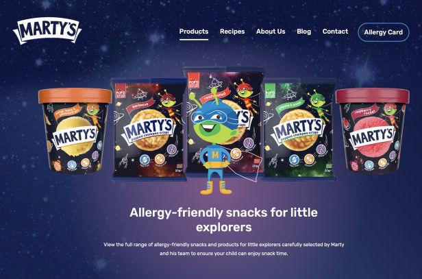 Danone Launches Digital Platform to Promote Allergy-Friendly Children's Product Range