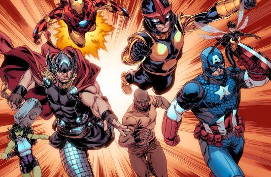 Marvel & BBDO NY Launch New Avengers Comic