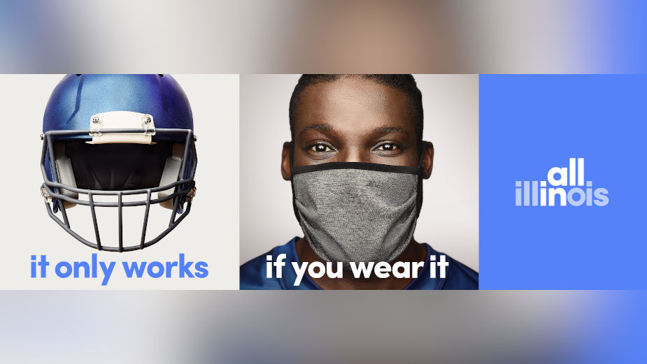 Illinois Governor JB Pritzker Launches Mask Awareness Campaign 'It Only Works If You Wear It'