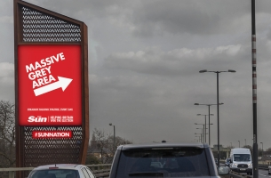 The Sun's Helping Britain Win the Election with Cheeky Outdoor Campaign