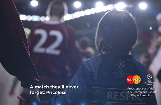 UEFA Champions League Mascots Front MasterCard