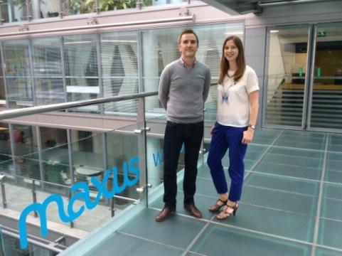 Maxus London Names Jonathan Wilson & Clare Chapman Managing Partners