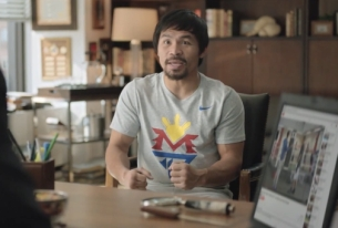 Manny Pacquiao Gets Pumped for the Big Fight in New Foot Locker Spot