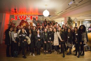 JWT London Opens Doors to 38 Year 10s for Inaugural 'Young Tribes' Day