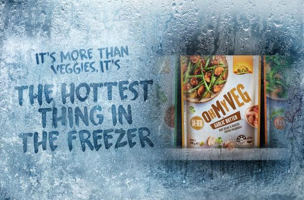 Oh My Veg! McCain Brings Something Hot to The Freezer Aisle