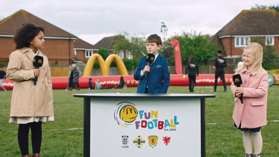 Kids Show Off Fancy Footwork in McDonald's 'Fun Football'