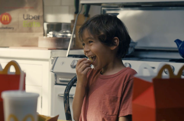 McDonald's and Uber Eats Are 'Delivering Happy' in Latest Campaign