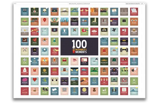 Razorfish's '100 McDonald's Moments'