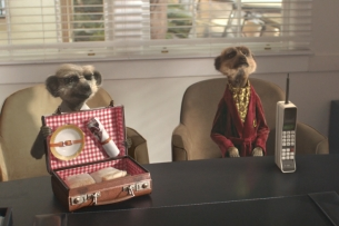 Comparethemarket.com's Meerkats Continue Their Quest in Hollywood