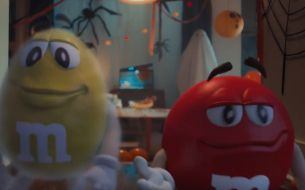 M&M's Gets Spirited Away for New Halloween Spot 'Ghosted'