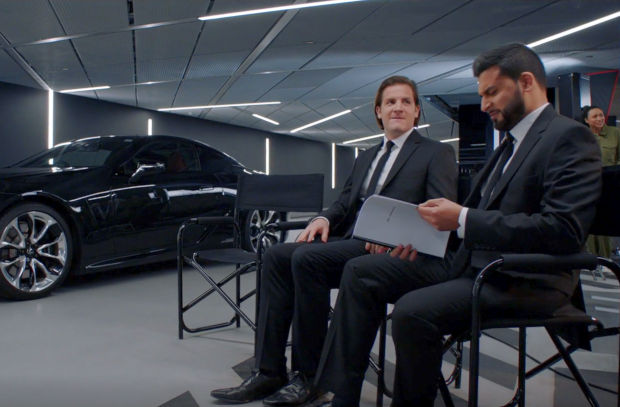 Lexus Mixes Fantasy and Reality with Men in Black Digital Content