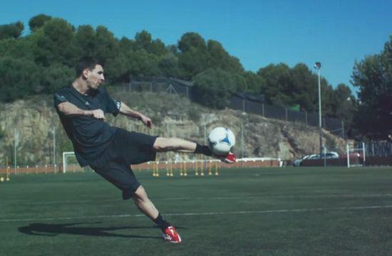 Messi Stars in Interactive Adidas Film