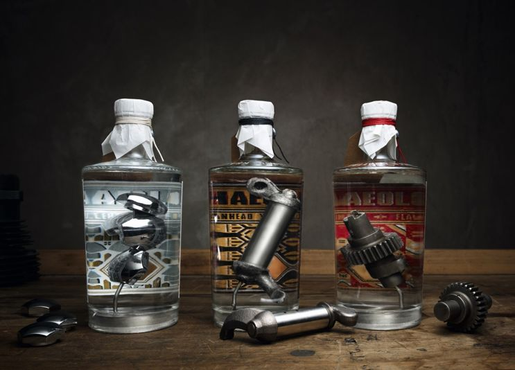 These Limited Edition Bottles of Gin Give You a True Taste of Harley-Davidson